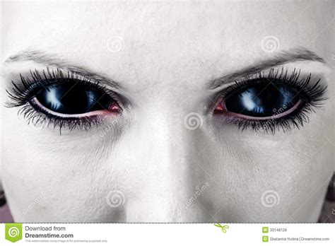 eyes evil female zombie vampire alien halloween theme