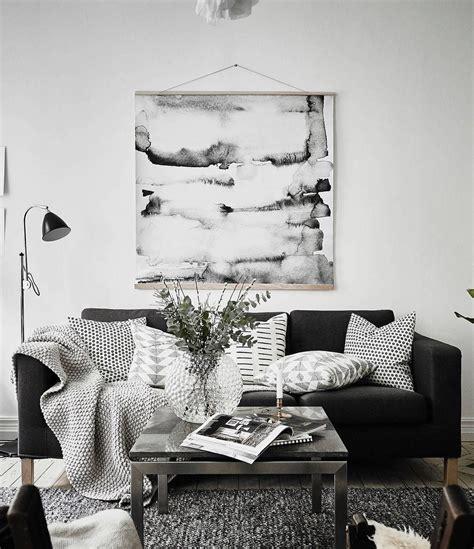 Living Room Decor Ideas Black And White by Simple And Cozy It S All About Interior Black White