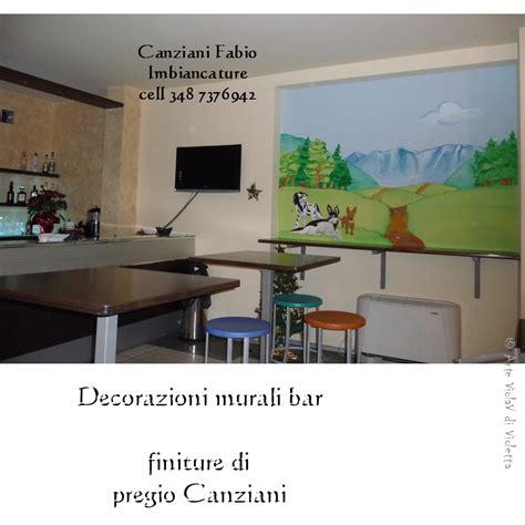 Decorazioni Murali Bar  Canziani Fabio Imbiancature