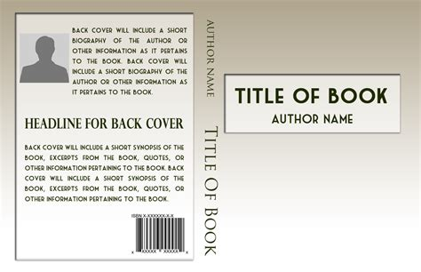 basic book cover templates  publishing relief