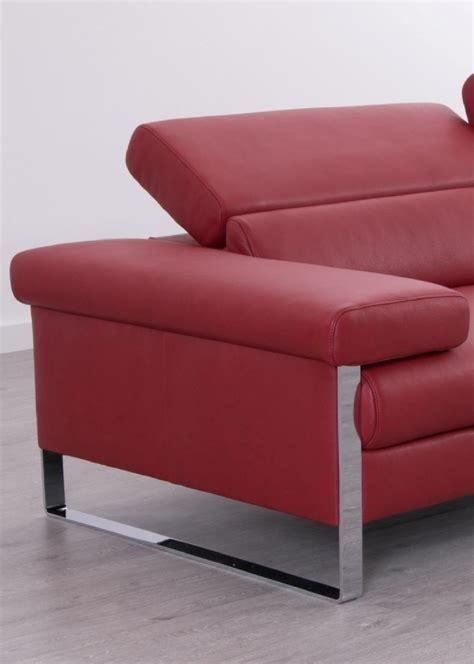 canapé assise canapé cuir design 3 places dreamline assises motorisées