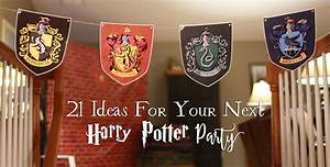 Harry Potter Decoration : 21 diy ideas for your next harry potter party another ~ Dode.kayakingforconservation.com Idées de Décoration