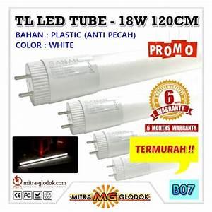 Tube Led 120 Cm : led neon panjang tl t8 tube 18w 120 cm sanan double e ~ Dallasstarsshop.com Idées de Décoration