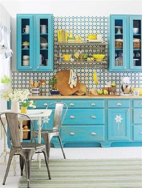 cuisine bleu ciel cuisine bleu 25 idées déco cuisine bleue