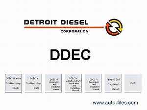 Detroit Diesel Ddec  Repair Manuals Download  Wiring