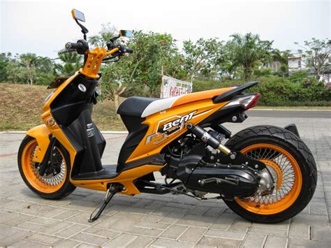 Modifikasi Motor Beat 2017 by Modifikasi Motor Honda Beat 2017 Terbaru Skrupan