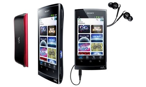 when did android come out sony coming out with new android powered walkman line