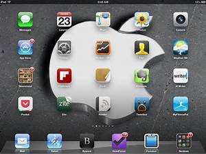 Weekend iPad Wallpapers: Apple Logos