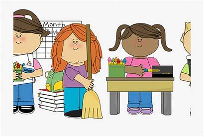 Classroom Cleaning Clipart Clip Clean Children Library