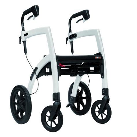 rollator walker and transport chair in one mobility