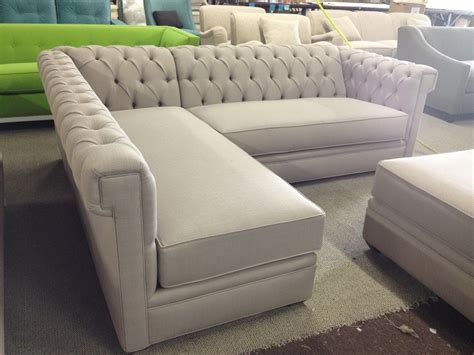 tufted sofa with chaise tufted sectional sofa chaise decenni tobias 10 foot double