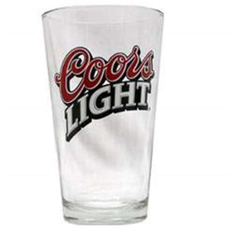 coors light glasses coors pint glasses