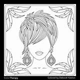 Coloring Pages Wife Adult Drawings Therapy Uploaded User sketch template