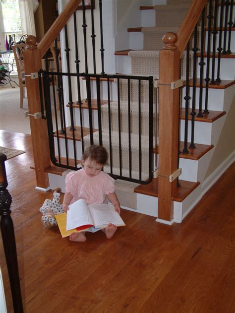 baby gate banister stairway special safety gate baby gates cardinal gates