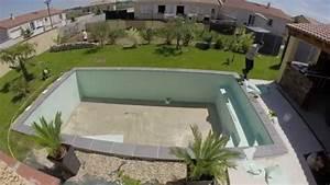 construction piscine irriblocs youtube With prix piscine couverte chauffee construction