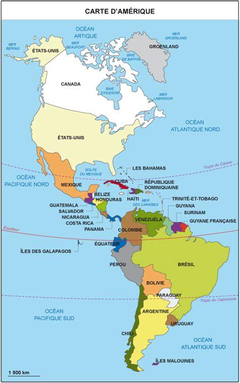 Carte Du Monde Continent Americain by Cours De Histoire G 233 Ographie Le Continent Am 233 Ricain Un