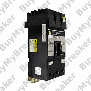 Square D Kh360801021 3 Pole 80 Amp 600v Circuit Breaker