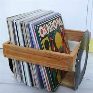 Bac A Vinyl : bac disques vinyles c t les manches retrouss es 45 les manches retrouss es ~ Teatrodelosmanantiales.com Idées de Décoration