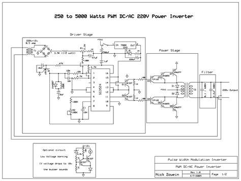 Inverter With Pwm Pulse Width Modulator