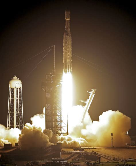 SpaceX launches hefty rocket with 24 satellites ...