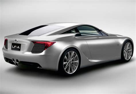 Lexus Lf-a Sports Car Concept 2007 Images
