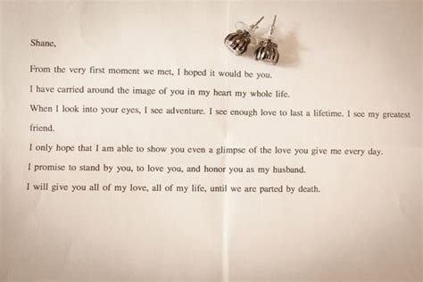 These Will Be My Vows