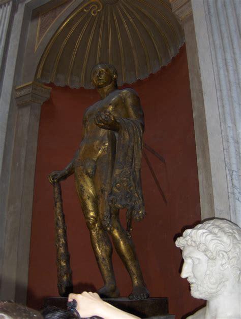 vatican museum bronze hercules statue saint marys press