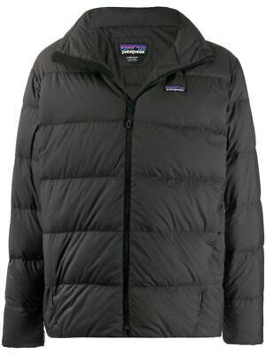 PATAGONIA MEN BLACK SILENT DOWN QUILTED PUFFER JACKET ...