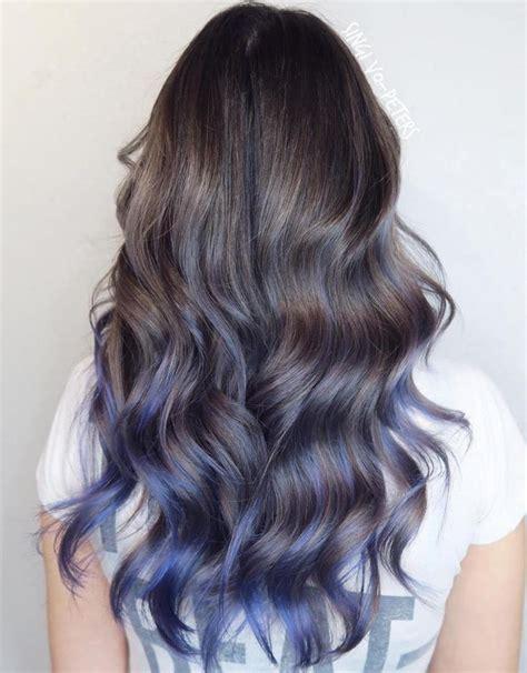 25 Best Ideas About Blue Hair Highlights On Pinterest