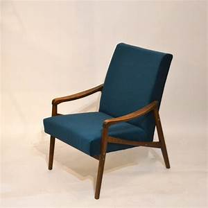Fauteuil Crapaud Bleu Canard : fauteuil retapiss velours bleu canard bindiesbindies ~ Teatrodelosmanantiales.com Idées de Décoration