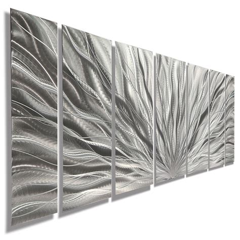 statements modern metal wall art abstract decor  jon