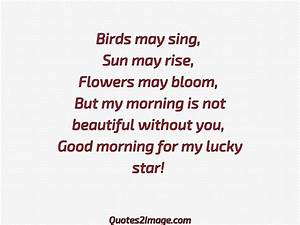 Good morning fo... Funny Lucky Star Quotes