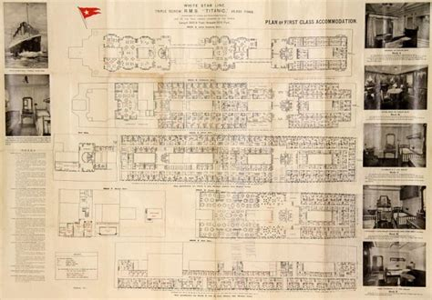 Titanic 2 Deck Plans by Original Titanic Class Deck Plan 3 600x418