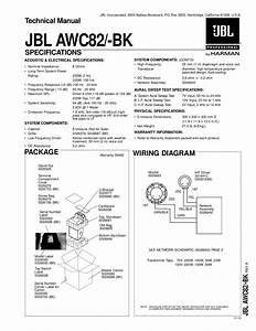 Download Free Pdf For Jbl Jbl82 Speaker Manual