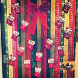 Office Door Christmas Decorations