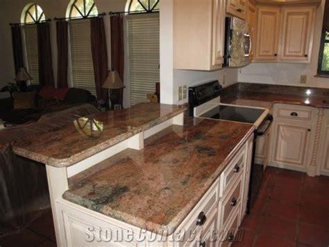 amber fantasy granite kitchen tops amber fantasy yellow