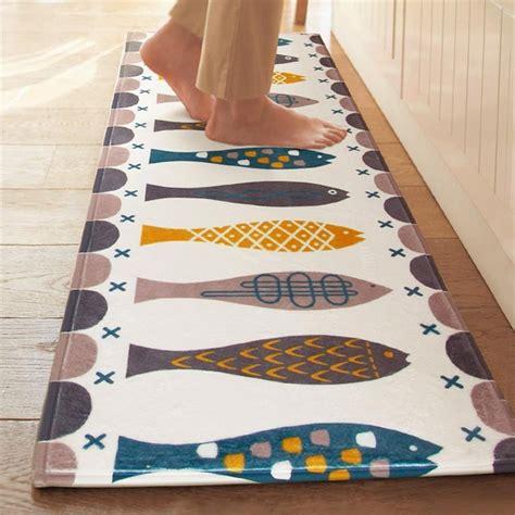 Kitchen Floor Rugs Washable by Borlans Washable Kitchen Floor Rug Non Slip Runner Bath