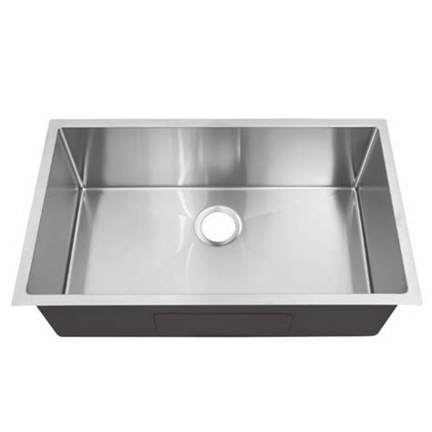 single kitchen sink y decor hardy undermount 33 in single bowl kitchen sink 2247