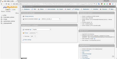 Autopzionibinarie Phpmyadmin Ubuntu Server