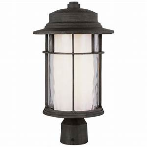 Trans globe lighting? opal chimney quot outdoor post top