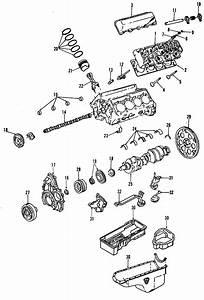 Chevrolet Silverado 3500 Engine Crankshaft Pulley  6 6