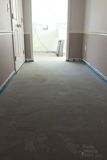bathroom linoleum how to patch and level a concrete subfloor pretty handy