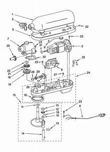 Whirlpool Mixer Parts