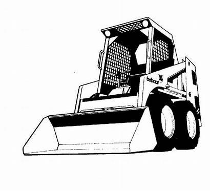 Bobcat Clipart Equipment Skid Steer Service Logos