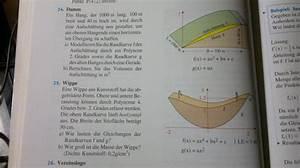 Integration Berechnen : damm eingeschlossene fl chen durch integration berechnen volumen von damm und wippe und ~ Themetempest.com Abrechnung