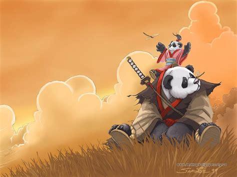 Anime Panda Wallpaper - wallpapers desktop wallpapers anime panda samurai