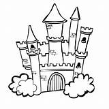 Castle Coloring Pages Print Boys sketch template