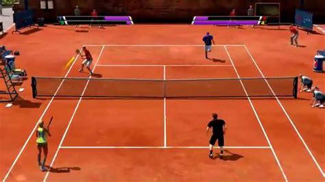 Virtua Tennis 4 20150309 Great Double Match Youtube