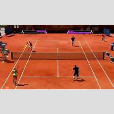Virtua Tennis 4 20150309 Great Double Match Youtube