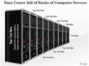 0814 Data Center Full Of Racks Of Computer Servers Blades
